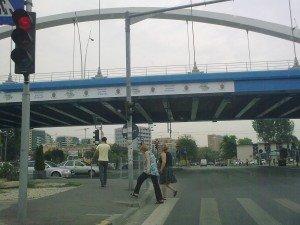Podul Grozăvești neaglomerat