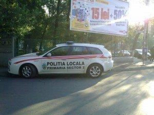 Alfa Romeo - poliţia locală sector 2
